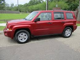 red jeep patriot 2009 jeep patriot for sale in baton rouge la 70816