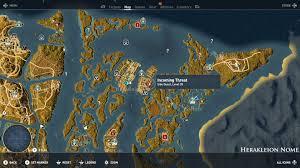Map Qust Assassin U0027s Creed Origins Incoming Threat Quest Gameintegral