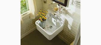 Kohler Laundry Room Sink by Standard Plumbing Supply Product Kohler K 12701 0 Gilford Wall