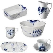 blue mega dinnerware from royal copenhagen apartment therapy