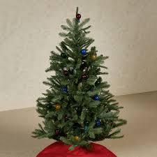 prelit christmas tree prelit lighted 4 foot artificial christmas tree