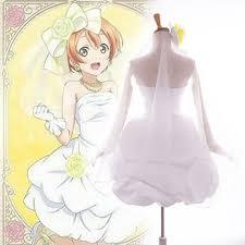 Bridesmaid Halloween Costume Love Live Cosplay Costume Awakening Bridesmaid Rin Hoshizora