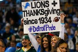 thanksgiving 1995 detroit lions thanksgiving day game in pictures si com