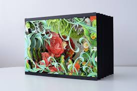 bozka s gorgeous handcrafted pop up books brown paper bag