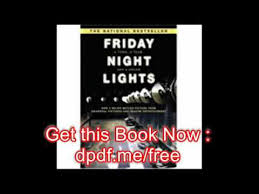 friday night lights book online download friday night lights youtube