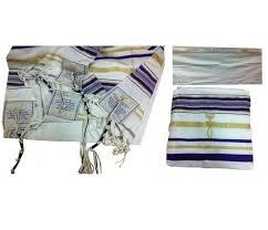 prayer shawls from israel blue tallit prayer shawl messianic rock of israel store