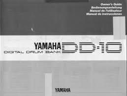yamaha manuals yamaha drums dd 10 user guide manualsonline com