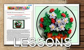quilling designs tutorial pdf five quilling lessons for beginners demo pdf art tutorial