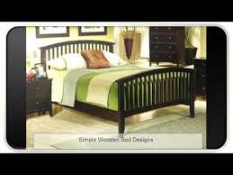 Wooden Bedroom Design Simple Wooden Bed Designs Youtube