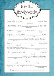 bridal mad libs 15 mad libs for your wedding bestbride101