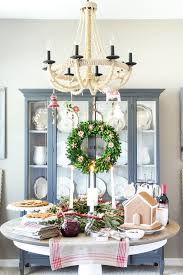 swedish st lucia inspired christmas table bless u0027er house