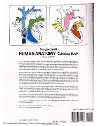 Anatomy Of Human Body Pdf Anatomy Coloring Book Dover