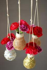 Flower Light Bulbs - diy decoration with light bulb 20 inspiring ideas hum ideas