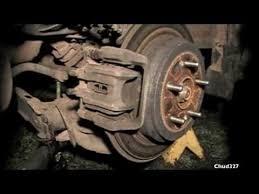 honda crv brake how to do a back brake in a honda cr v