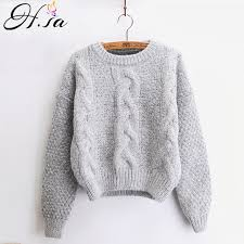 warm womens sweaters h sa sweaters warm pullover and jumpers crewneck mohair