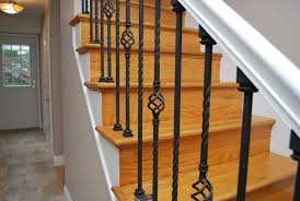 metal banister ideas adorable metal banister spindles for your wrought iron stair