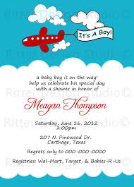 printable baby shower invitations for boys airplane baby shower invitation printable 15 00 via etsy