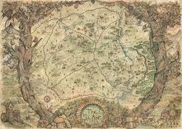 map from lord of the rings baerald the shire lord of the rings map