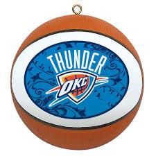 Okc Thunder Home Decor Amazon Com Nba Oklahoma City Thunder Mini Replica Basketball