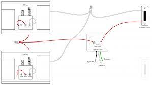 doorbell wiring diagrams diy house help new nutone diagram