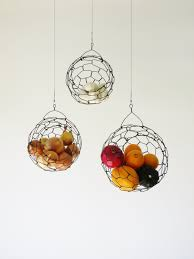 modern fruit basket our new obsession hanging fruit baskets
