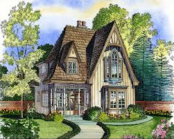 Tudor Style Floor Plans by Adorable Cottage 43000pf Architectural Designs House Plans