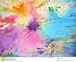 Paint Design by Colorful Background Splash Color Drop Painting Design