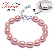 pearls bracelet images Daimi brand freshwater pearls bracelet 7 8 mm natural white pearl jpg