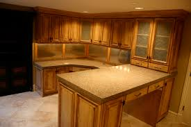 Oak Kitchen Cabinets by Furniture Traditional Kitchen Design With Cozy Cambria Quartz And