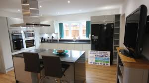 Black Gloss Kitchen Ideas by Kitchens With Granite Worktops Picgit Com