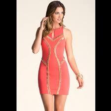 69 bebe dresses skirts bebe jeweled mini dress