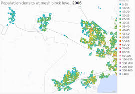 Population Map How Is Melbourne U0027s Population Density Changing 2006 2016