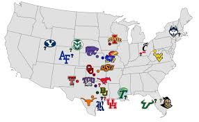 Uconn Storrs Map College Sports Who U0027s Left In The Big 12 Expansion Race Pros Cons