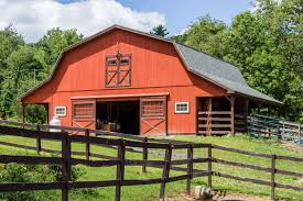 Hip Roof Barn by Lean To Overhangs The Barn Yard U0026 Great Country Garages