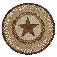 Braided Rugs Southwest Rugs Lone Star Braided Rug Lone Star Western Decor
