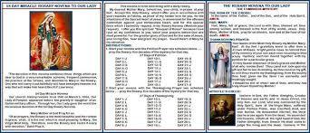 thanksgiving luminous mystery 1 54 day rosary novena