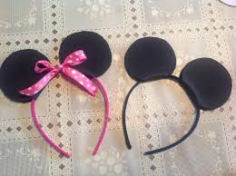ribbon headbands how to make a mickey minnie mouse headbands snapguide