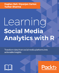 learning social media analytics with r packt books