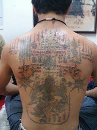 sak yant thai temple tattoos ganesh u0026 majchanu
