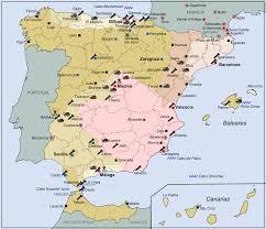 Zaragoza Spain Map by Anarchist Aragon Wikipedia