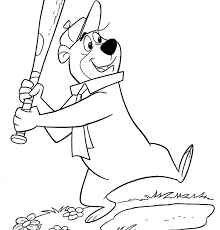 coloring pages of yogi bear suddenly yogi bear coloring pages free general to color and print
