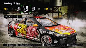 mitsubishi evo 7 2 fast 2 furious need for speed most wanted cars by mitsubishi nfscars