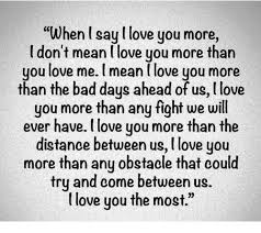 L Love You Meme - when i say love you more i don t mean love you more than you love me