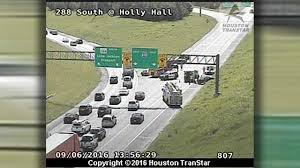 Houston Transtar Traffic Map Wreck Forces Closure Of South Loop Ramp From Highway 288 Abc13 Com