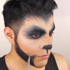 werewolf makeup tutorial male face painting werewolf werewolves face and google