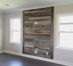 Tv Accent Wall by Urban Wood Company U2014 We Completed This Barn Wood Tv Accent Wall