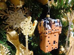 collectible ornament preserves scottish castles and