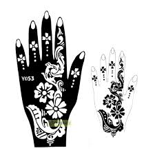 1pc great sale dreamcatcher flash large mehndi henna glitter