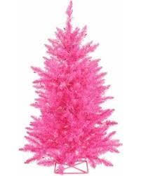 bargains on vickerman pink 3 foot artificial tree