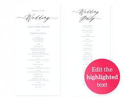 fan wedding programs diy wedding programs diy hixathens